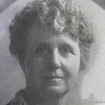 1933-1935 Katherine Cushman (Mrs Fred) Hoke